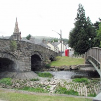 Llandrillo Bridge and Churcch